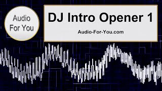 DJ Intro Opener  Demo 1