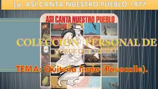 HERMANOS CARRION - QUITEÑA LINDA (Pasacalle) Lp. 1977 ASI CANTA NUESTRO PUEBLO