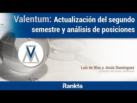 Valentum: Actualización del segundo semestre y análisis de posiciones