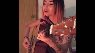 Daniela Calvario - Andas En Mi Cabeza (2017) (Chino & Nacho ft. Daddy Yankee Cover)