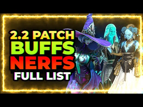 RAID Shadow Legends | BUFFS & NERFS! | FULL List!