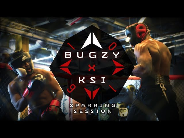 Bugzy Malone Faces Off With Ksi In A Boxing Sparring Session