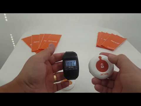 Relógio Receptor de chamadas CG-700 | Chama Garçom Jetway