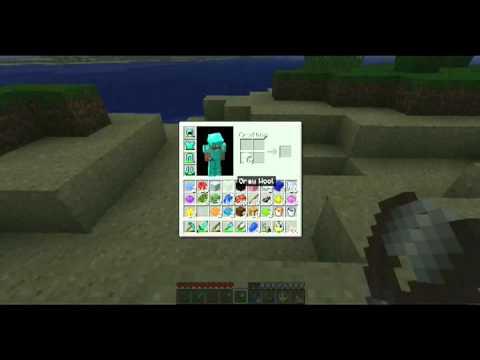 Minecraft rehberi bölüm 11 - Boyalar, renkli yunler, shears(yun makası) ve oltayla ghast avlamak
