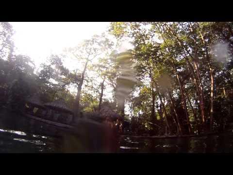Leda volcanic springs backflip in Nicaragua