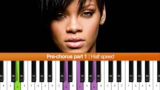 """How To Play """"Stay"""" (Rihanna ft. Mikky Ekko) Piano Tutorial"""