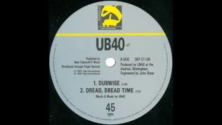 UB40 - Dread Dread Time