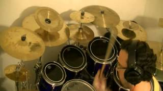 V.I.P. Manic Drive drum cover by Adam Rhodes VIP