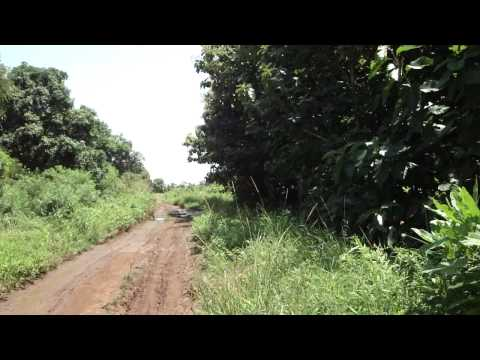 Road from Juba to Yei in South Sudan Africa 2