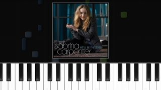 "Sabrina Carpenter - ""We'll Be The Stars"" Piano Tutorial - Chords - How To Play - Cover"