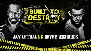 Jay Lethal's Opponent Confirmed For Built To Destroy