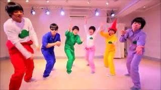 【ごち松】六つ子が全力バタンキュー踊ってみた【オリジナル振り付け】