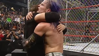 Unforgiven 2000: Edge y Christian vs. The Hardy Boyz