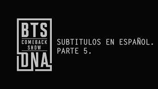 [SUB ESP] Mnet COMEBACK SHOW BTS DNA (Parte 5) | Cuarto de Jimin.