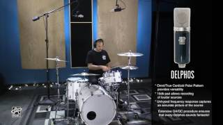 Drum Overhead Microphone Test - Roswell Mini K47 and Delphos