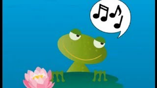 Ingles para niños. Cucu cantaba la rana en inglés. Blanet