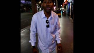 """Luther Vandross: """"Dance With My Father Again"""" Vocally Performed by Angelo White, on Hollywood BLVD"""