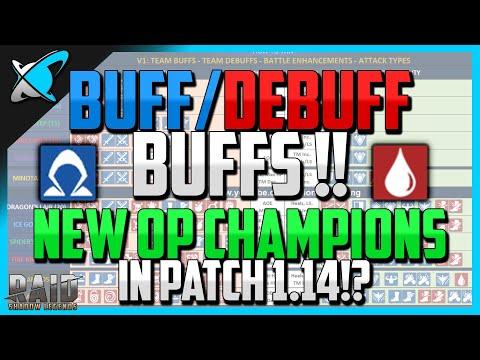 Buff/Debuff Buffs (Veil & Leech) ! | Will affected Champions become OP ?! | Patch 1.14 News
