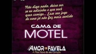 FORRÓ NOVO 2017 - CAMA DE MOTEL  [ BANDA AMOR DE FAVELA ]