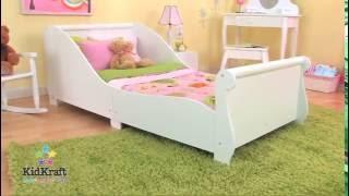 Mi Petite Life - Kidkraft Cama Trineo Blanca 86730