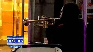"A Black Man Plays ""Maoz Tzur Yeshuati"" in Manhattan"