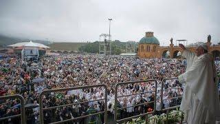 JMJ 2013 - Íntegra discurso improvisado do Papa em Aparecida