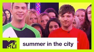 Louis Tomlinson Shows Off His Soccer Skills   Summer in the City   MTV