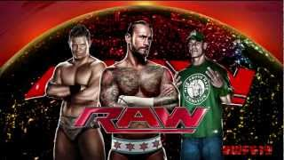 WWE- Monday Night Raw Theme Song- ''The Night'' [With Download Link]