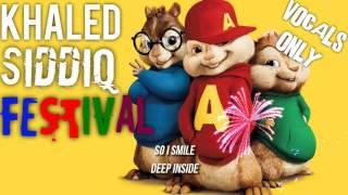 Khāled Siddīq - FESTIVAL (Eid Anthem - Chipmunk Version) | VOCALS ONLY