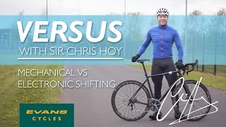 Mechanical Vs Electronic Shifting | VERSUS with Sir Chris Hoy