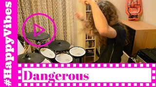 David Guetta feat. Sam Martin - Dangerous - Drum Cover