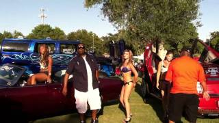 E-40 ft B Leget- rear view mirror(making of music video)