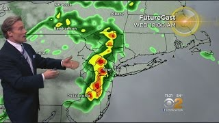 Serious Weather Possible With Mild Temps Wednesday