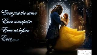 BEAUTY & THE BEAST LYRICS - ARIANA ft JOHN LEGEND