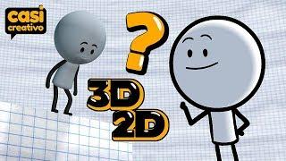 Fulano en animación 3D o 2D | Casi Creativo