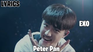 //LYRICS// EXO: Peter Pan width=