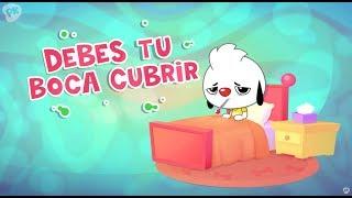 Debes tu boca cubrir | Me Encanta Aprender | Canciones para niños | PlayKids en Español