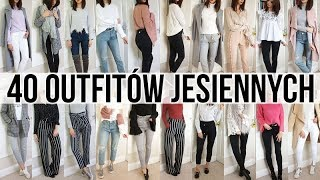 40 OUTFITOW NA JESIEN