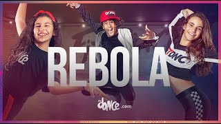 Rebola - IZA part. Gloria Groove & Carlinhos Brown   FitDance Teen (Coreografía) Dance Video