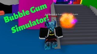 Bubble gum simulator
