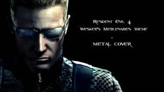 Resident Evil 4 Mercenaries - Wesker's theme (metal cover)