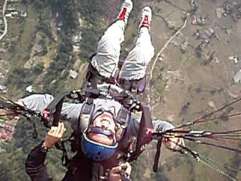 Paragliding in Pokhara.MOV