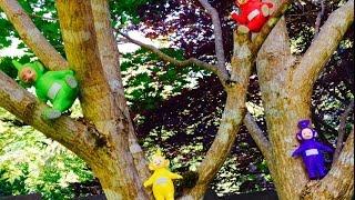 TELETUBBIES TOYS Visit A Japanese Garden!