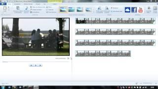 Movie maker (separar o som do video)