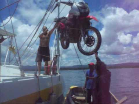 5. Nicaragua-Cartagena, Colombia. Marco Monteros. Viaje en moto Florida a Cayambe Ecuador.