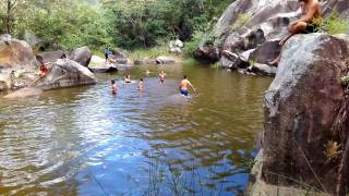 Cachoeira da glória em arara