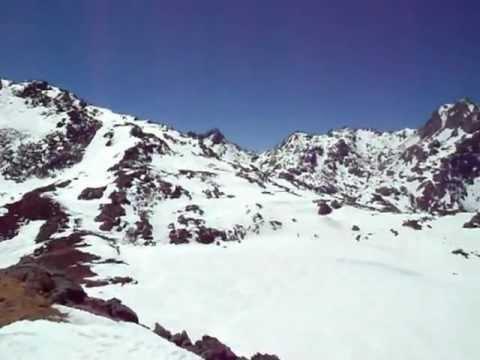 View from Laurebina La (4654m), Langtang Himal, Nepal