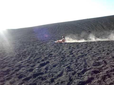Volcano Boarding 2 chale