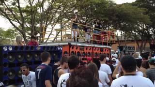 DJ LEANDRO ELETROFANK BRASIL BOMBOU EM PALOTINA