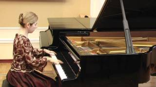 S. Prokofieff: Montagues and Capulets from Pomeo and Juliet (Irina Lozina, concert pianist)